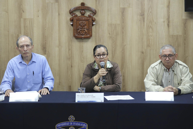 Rueda de prensa con Tres especialistas en salud mental del Centro Universitario de Ciencias de la Salud