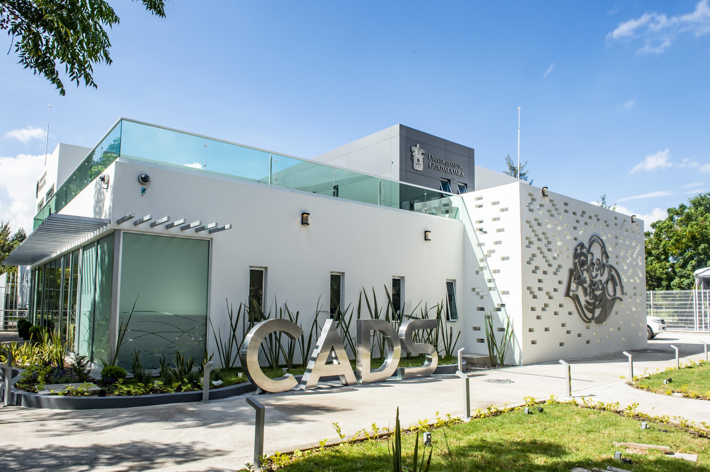 Fachada del Centro de Análisis de Datos y Supercómputo (CADS), ubicado en el CUCEA