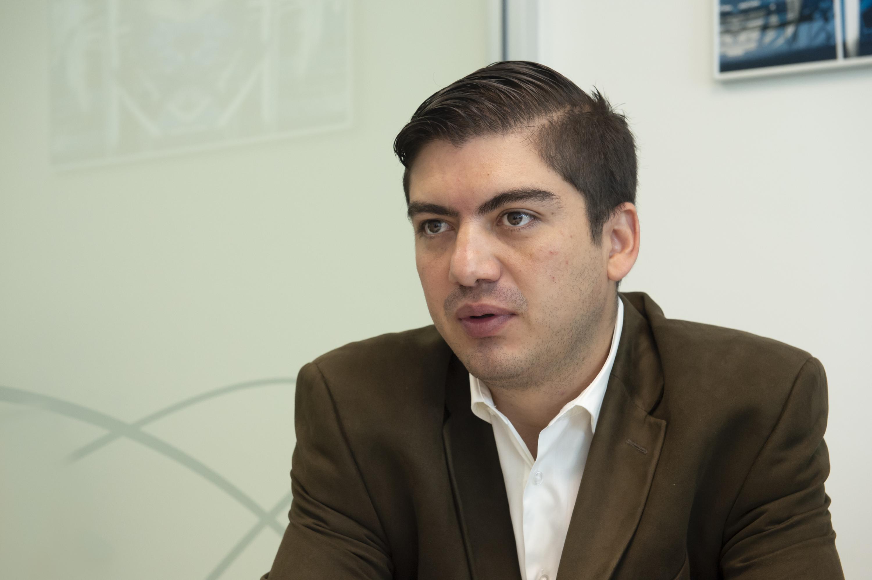 Coordinador de Operaciones y Servicios de la CGTI, maestro Jorge Lozoya Arandia.