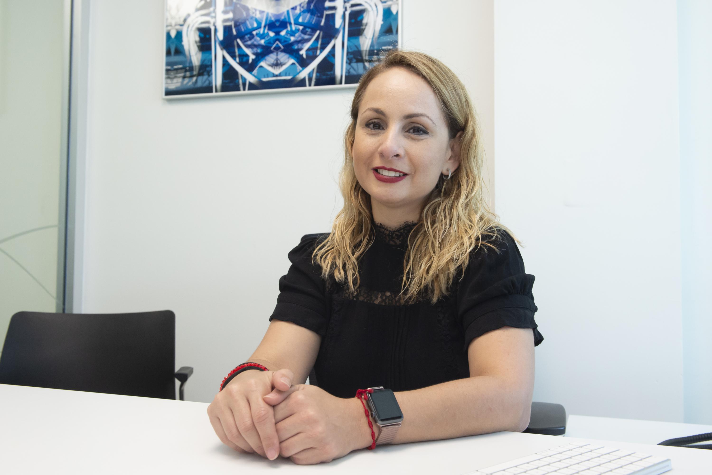 Encargada del Área de Diseño de Sistemas y Arquitectura de Software, ingeniera Lizette Robles Dueñas