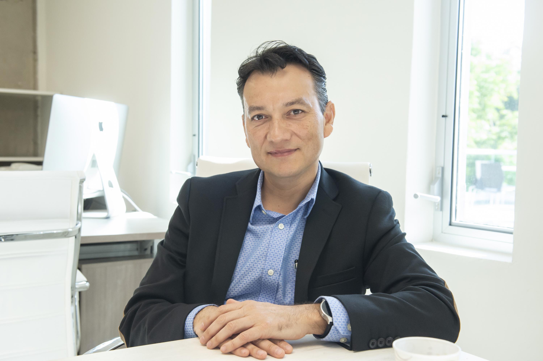 Encargado de la Redmexu y Director de Telemática en el CICESE, doctor Raúl Rivera Rodríguez