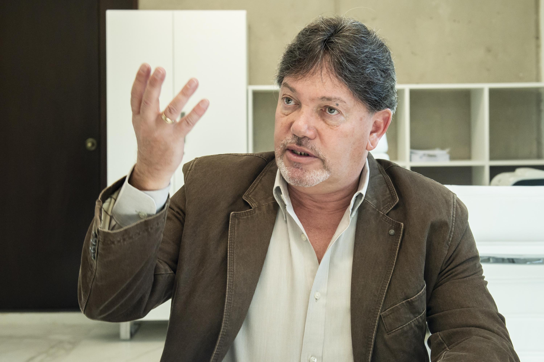 Responsable del laboratorio de Matemática Aplicada y Cómputo de Alto Rendimiento del Cinvestav, doctor Isidoro Gitler