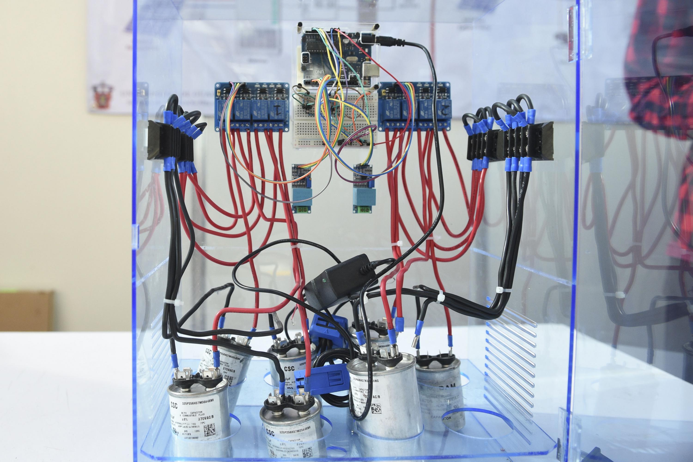 Un prototipo elaborado en la escuela Politecnica