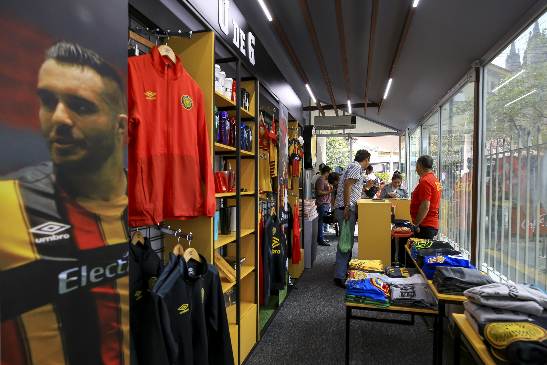 Interior de la tienda ubicada en la Rambla Cataluña