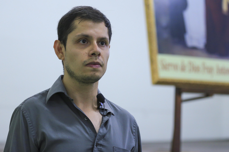 Rodrigo Vega Aguilar, miembro del comité organizador del taller.