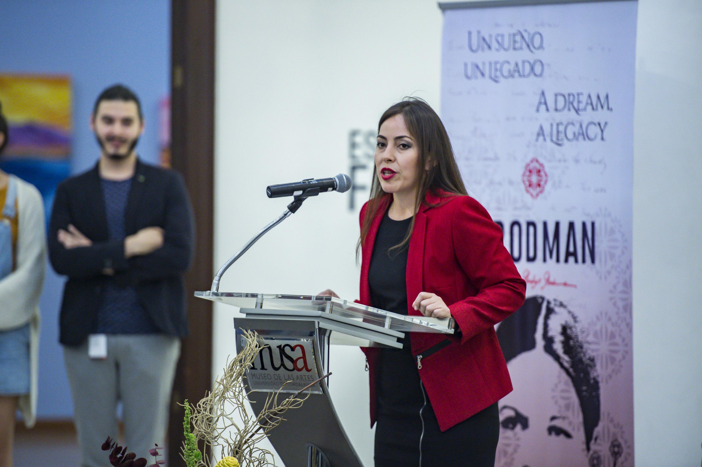 La maestra Jennifer Huerta Delgadillo es La Secretario Técnico de la University of Guadalajara Foundation USA