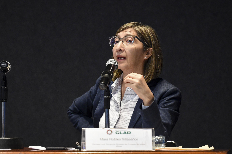 Doctora Mara Nadiezdha Robles Villaseñor, diputada local del Congreso de Jalisco.