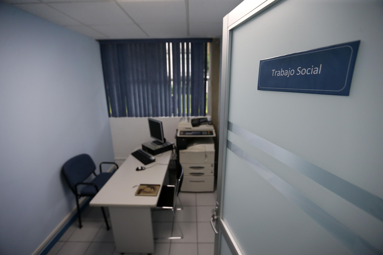 Interior del departamento donde estará el  Centro Público de  Prestación de Servicios de Métodos Alternativos 156