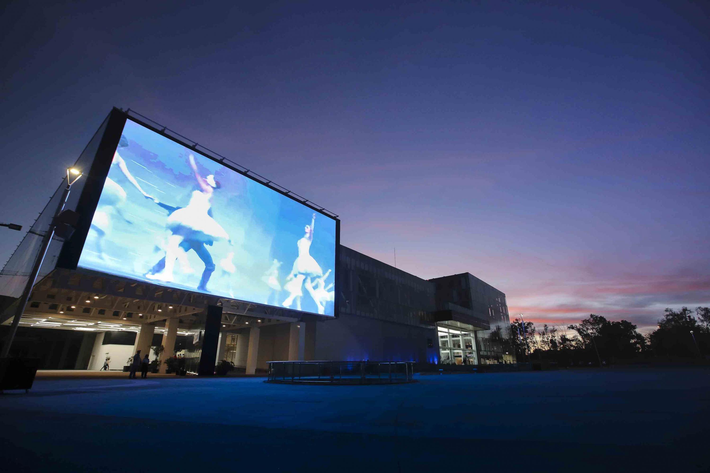 Una proyeccion de ballet se puede ver en la  Pantalla Bicentenaria de la UDG