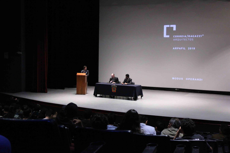 Presentación de los ponentes del encuentro de arquitectura ArpaFIL.