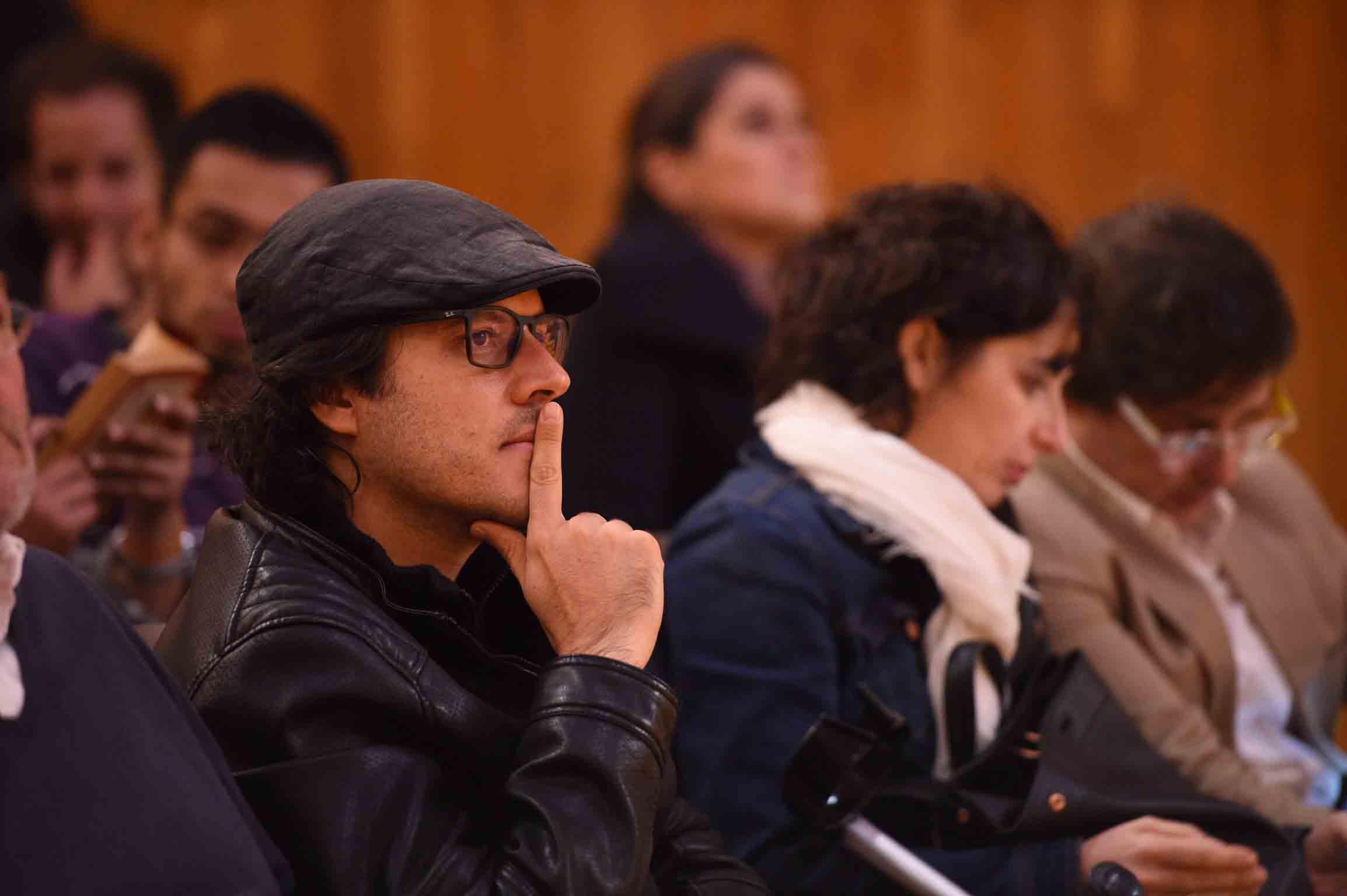 Público de la charla de  João Luís Carrilho da Graça.