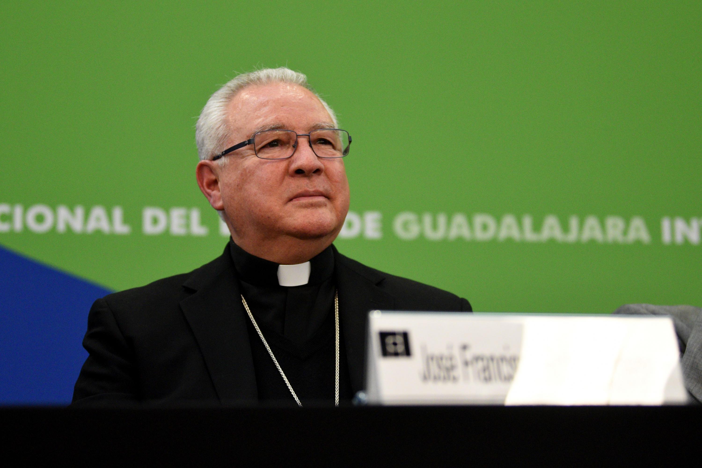 El Arzobispo de Guadalajara, José Francisco Robles Ortega.