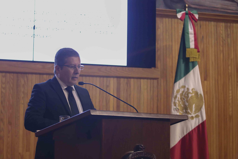 El doctor Daniel Jaime Haro Reyes presentó al CGU sus propuestas para el puesto de defensor universitario