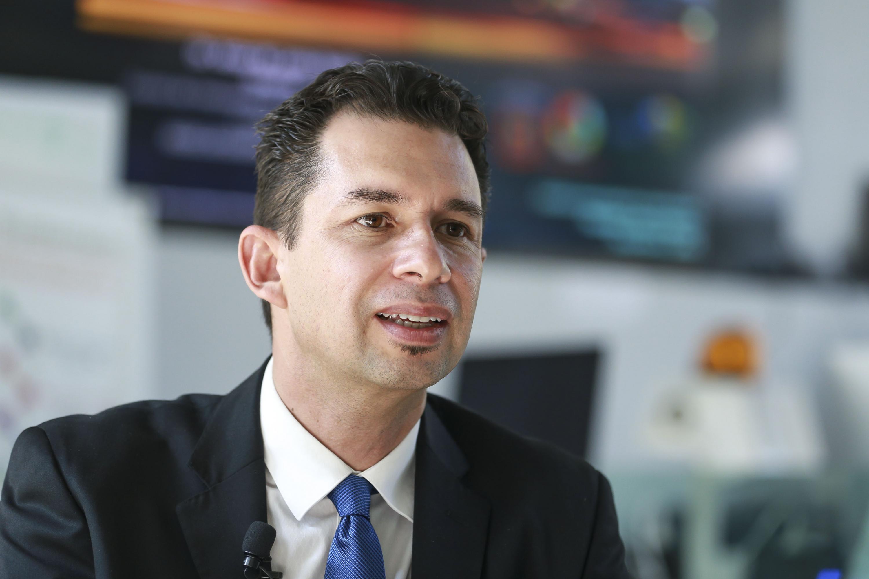 El doctor Jesús Raúl Beltrán Ramírez, Coordinador del Doctorado en Tecnologías de la Información.