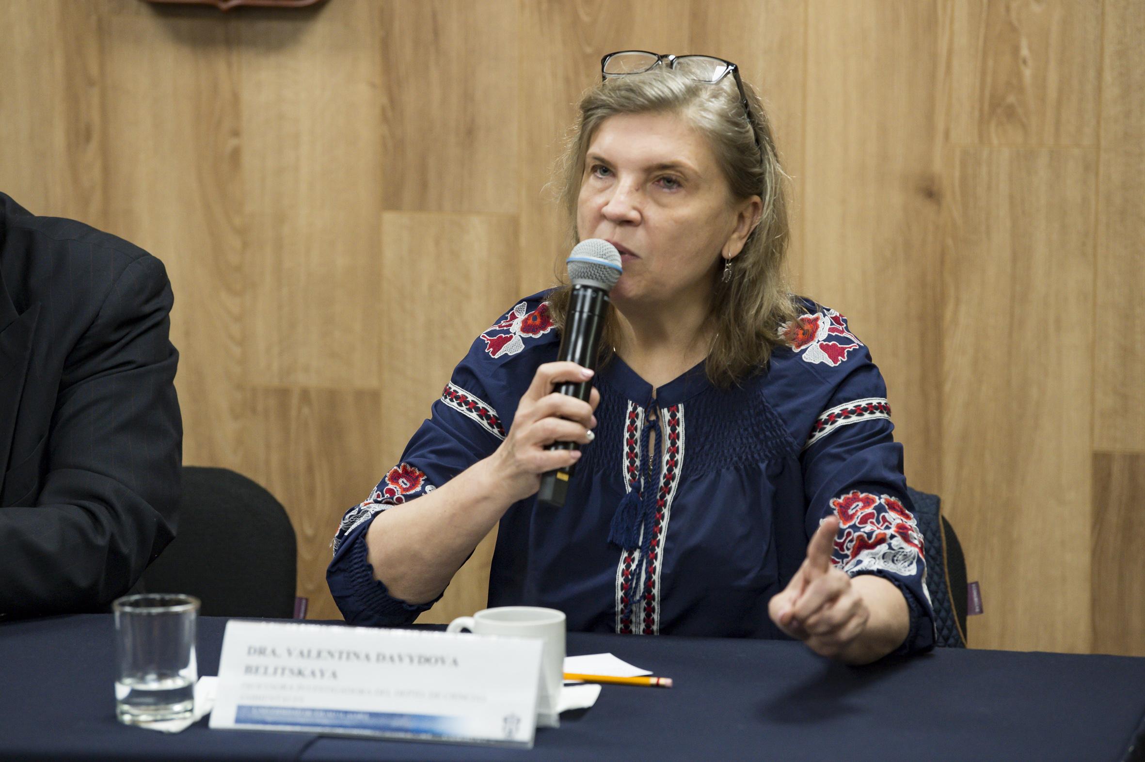 la doctora Valentina Davydova habló de los problemas ambientales a causa de los contaminantes en el aire