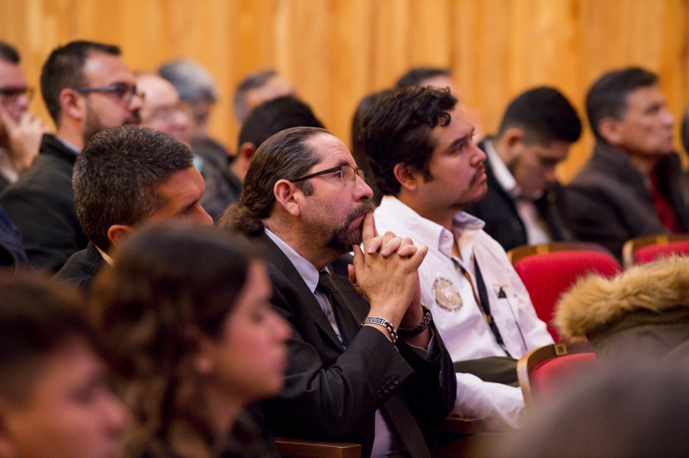 Publico asistente a la inauguración del Diplomado de Uso de Datos Satelitales