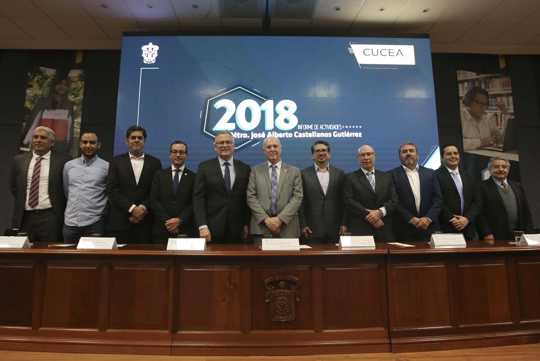 Sexto informe de actividades del rector del CUCEA Maestro José Alberto Castellanos Gutiérrez