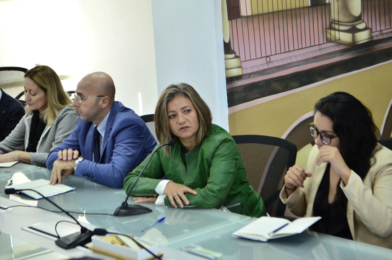 Al micrófono La Directora General del Consejo Promotor de Innovación y Diseño, Noemí Pizano
