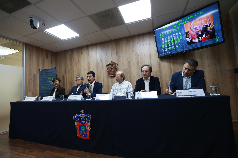 Rueda de prensa para anunciar oficialmente el Instituto de Investigación y Estudios de las Ciudades (IN-Ciudades