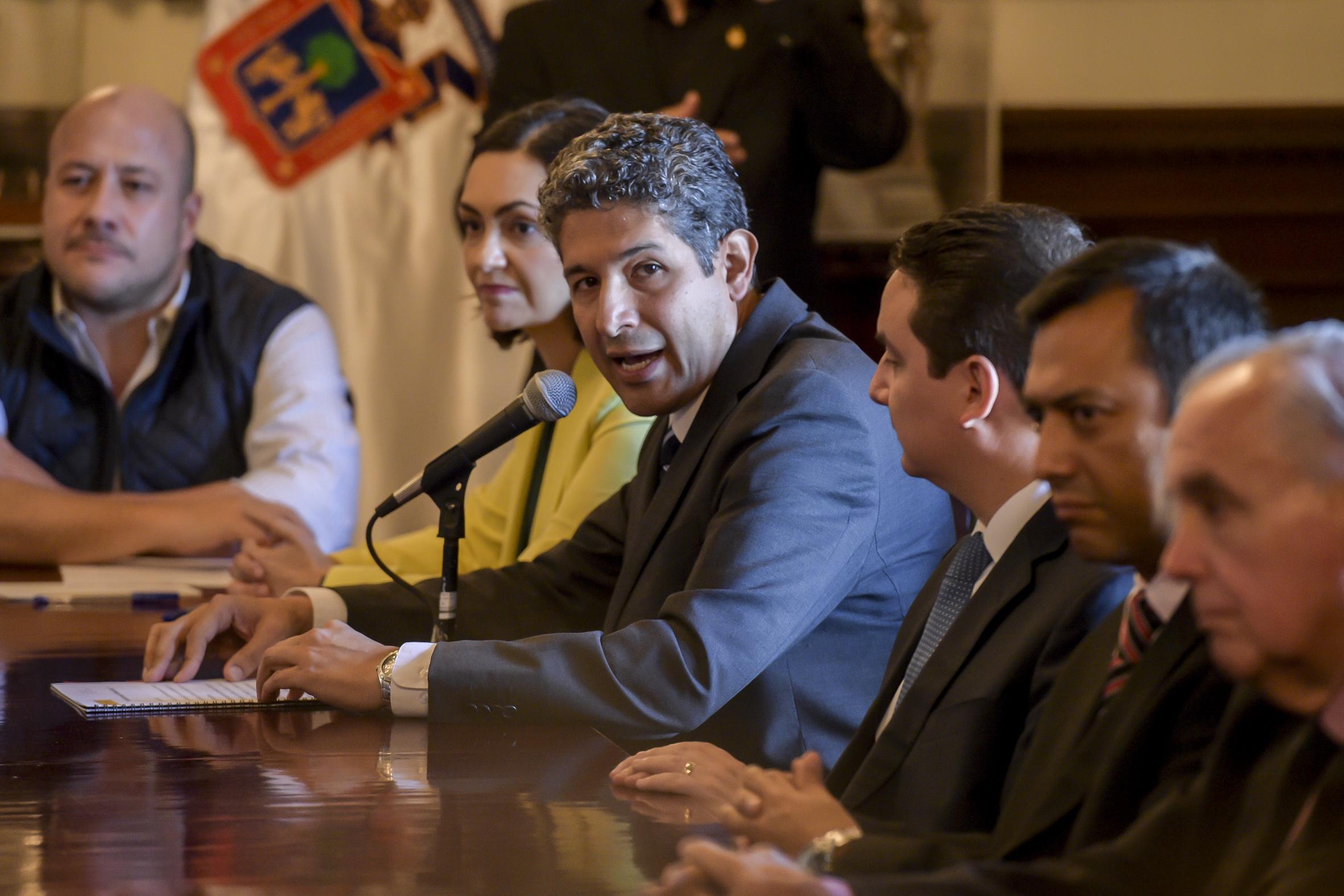 Autoridades del Gobierno del Estado estuvieron presentes en la firma del acuerdo