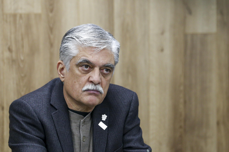 Coordinador del Módulo de Cirugía Robótica, doctor Luis Gómez Hermosillo