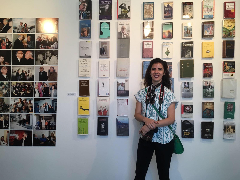 Judith Guzmán Ramírez, egresada de la licenciatura en Letras Hispánicas, del Centro Universitario de Ciencias Sociales y Humanidades (CUCSH)