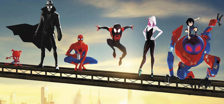Personajes de la pelicula Spider-Man: un nuevo universo, cinta dirigida por Bob Persichetti, Peter Ramsey y Rodney Rothman.