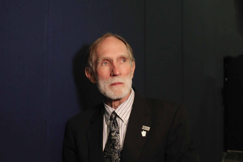 Doctor Peter Agre, profesor de la Universidad de Duke, en Estados Unidos