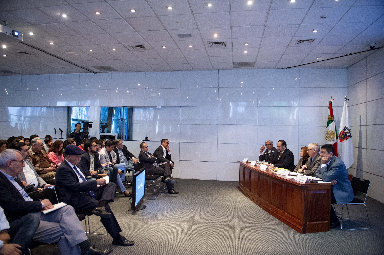 """Quinto Coloquio de Invierno de la Red de Políticas Públicas, que tiene como tema central la """"Refundación de Jalisco""""."""