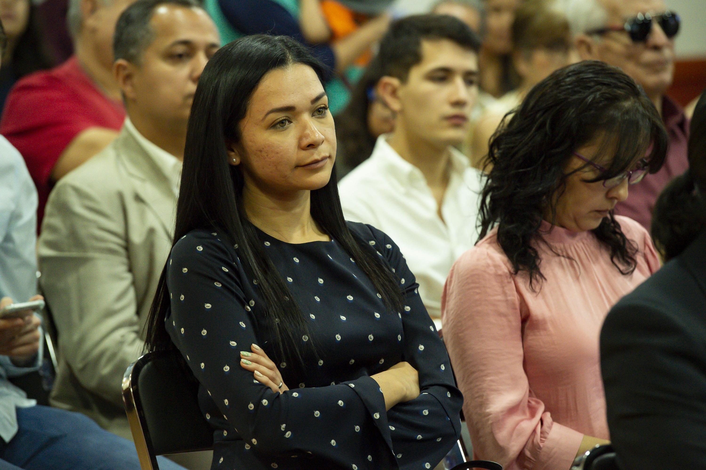 Esmeralda Olmos, de la coordinacion de tecnologias del Sistema de Educación Media Superior