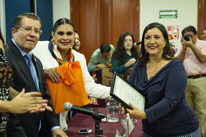 La Presidenta de La Asociación de Mujeres Académicas de la UDG es la doctora Raquel Partida Rocha
