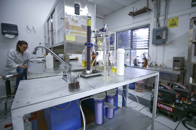 Laboratorio del Centro Universitario de Ciencias  Exactas e Ingenierías (CUCEI)