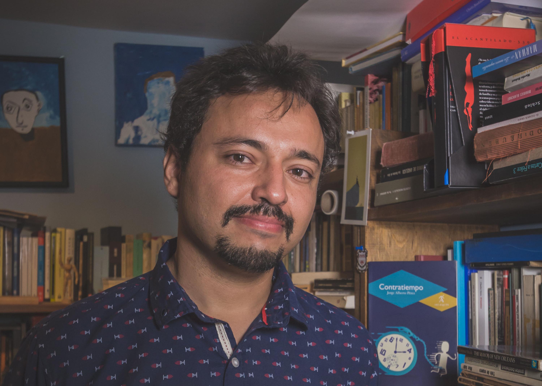 El escritor, Jorge Alberto Pérez