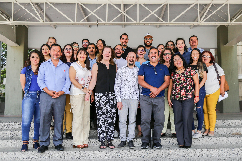 Investigadores de la Universidad de Nottingham, Inglaterra e investigadores del Centro Universitario de Arte, Arquitectura y Diseño (CUAAD)
