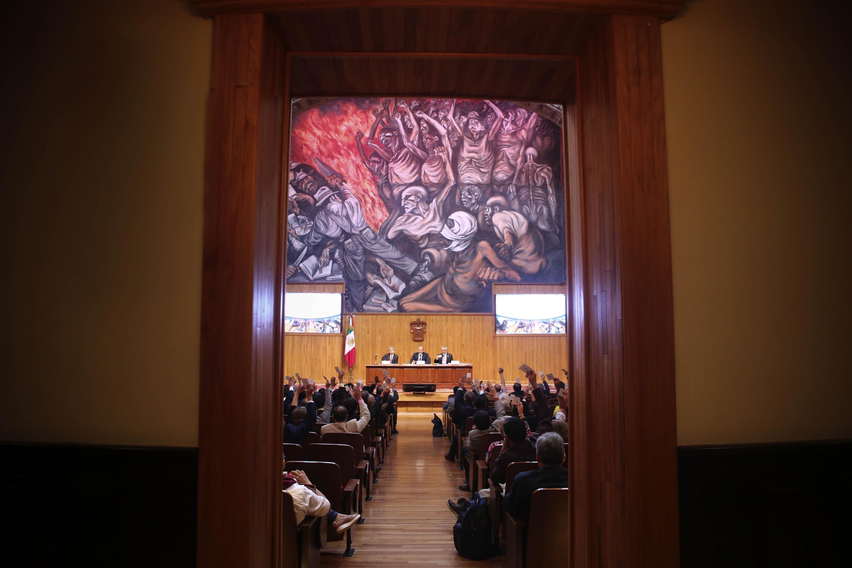 El Consejo General Universitario (CGU), de la Universidad de Guadalajara (UdeG)