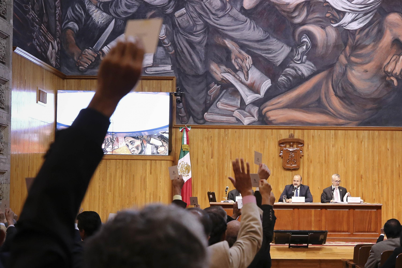 Consejo General Universitario (CGU), de la Universidad de Guadalajara (UdeG), en sesión