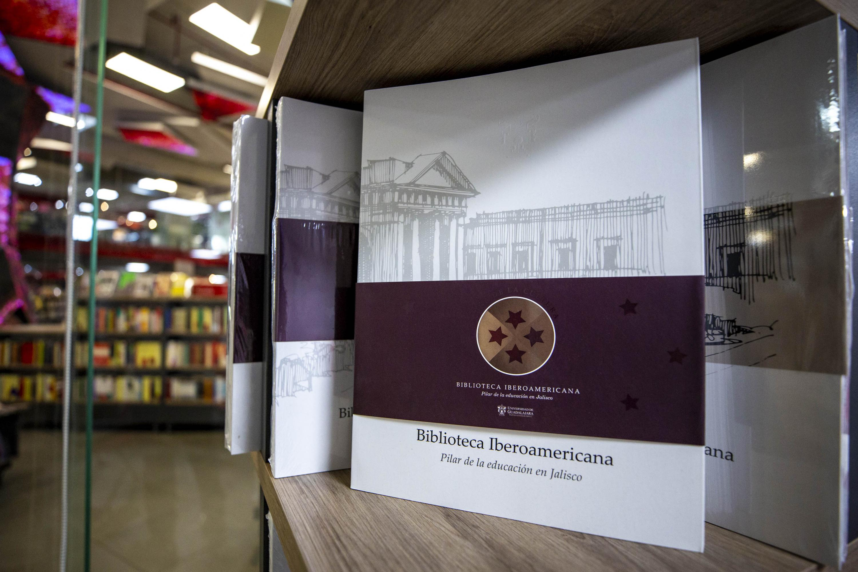 Portada de libro Biblioteca Iberoamericana. Pilar de la educación en Jalisco