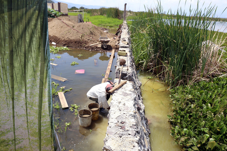 Cambio de suelo sumamente drástico que está impactando significativamente al lago, y la causa la tenemos fuera del polígono de protección del lago