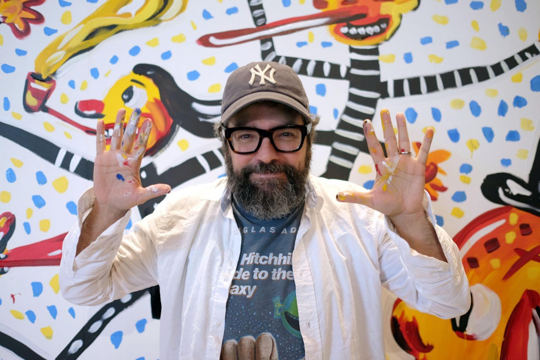 """El historietista, pintor, editor e ilustrador argentino Ricardo Siri """"Liniers"""""""