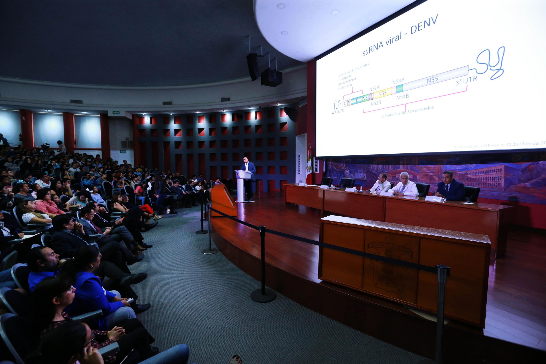"""Académicos y especialistas participan en el panel """"El dengue y otras arbovirosis"""", en el CUCS"""