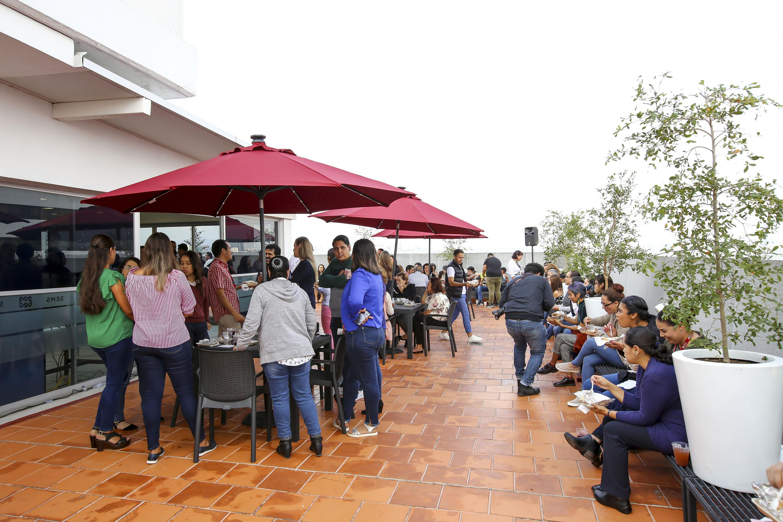 Instalaciones del nuevo comedor para trabajadores de Educación Media Superior (SEMS) de la Universidad de Guadalajara (UdeG)