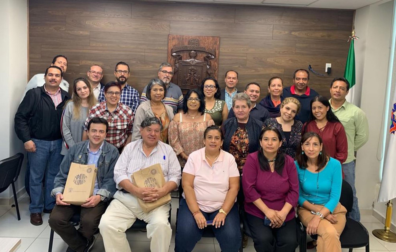 Académicos de la Universidad de Guadalajara participantes al Seminario de Seguridad Ciudadana, Cultura de Paz y Derechos Humanos que se realiza en UDGVirtual