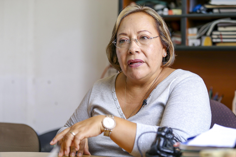 La investigadora del Departamento de Fisiología, del Centro Universitario de Ciencias de la Salud (CUCS) de la UdeG, doctora María Luisa Mendoza Magaña