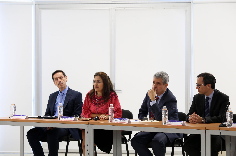 Autoridades Universitarias en el Seminario Binacional en Innovación Educativa, Liderazgo y Literacidad,