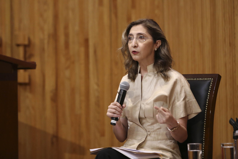 La doctora Mara Robles Villaseñor, diputada local y Presidenta de la Comisión de Educación en el Congreso local