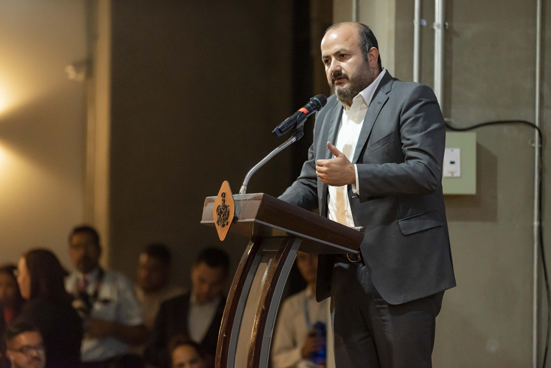 El Rector General de esta Casa de Estudio, doctor Ricardo Villanueva Lomelí, en uso de la palabra