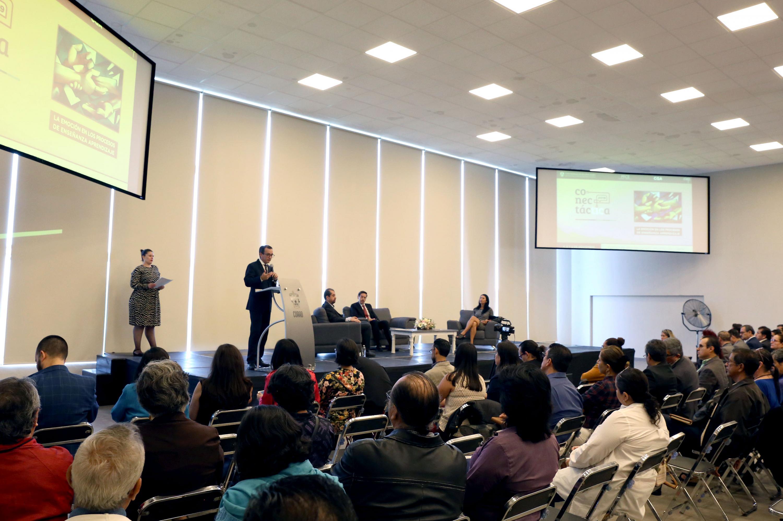 """Inauguración de """"Conectáctica"""", un encuentro entre académicos cuyo fin es reflexionar sobre temas educativos"""