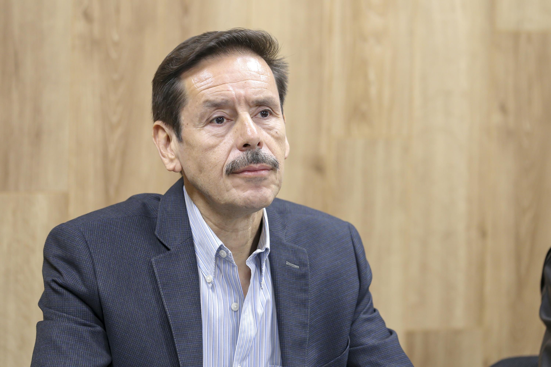 El Rector del Centro Universitario de Arte, Arquitectura y Diseño (CUAAD, doctor Francisco Javier González Madariaga.