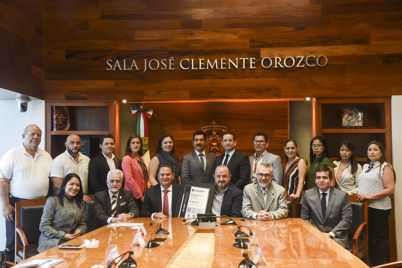 La Preparatoria 5 del Sistema de Educación Media Superior (SEMS), de la Universidad de Guadalajara (UdeG) recibió, por cuarta ocasión consecutiva, el Certificado ISO 9001:2015