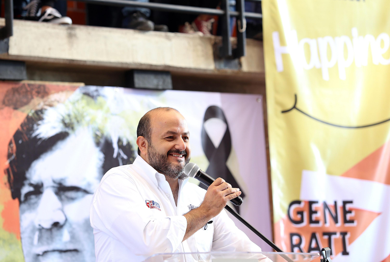 El Rector General, doctor Ricardo Villanueva Lomelí, en uso de la palabra